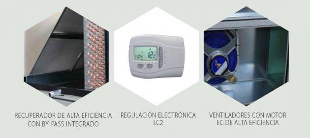 LMF FLS Unidades de recuperación de calor