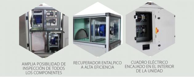 LMF FLR Unidades de recuperación de calor