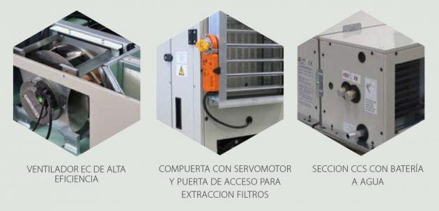 LMF HRS Unidades de recuperación de calor