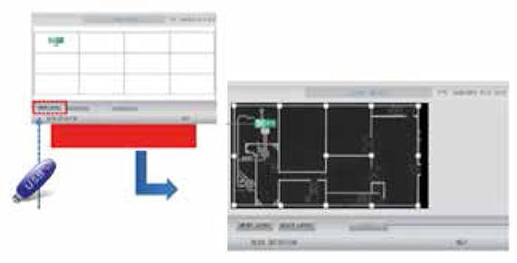 mhi Consolas Centrales Pantalla Tactil funcion bms
