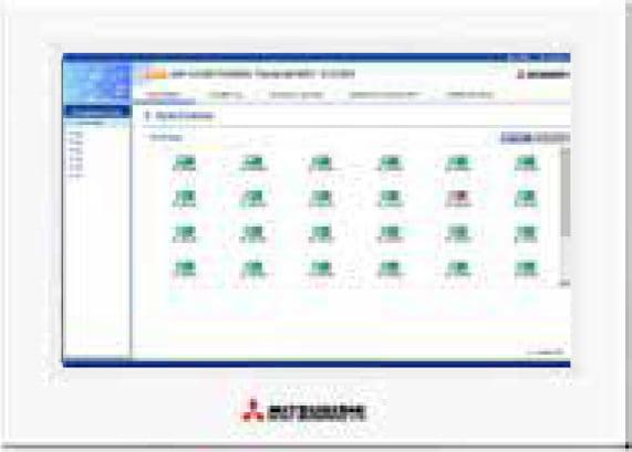 mhi Consolas Centrales Pantalla Tactil funcion web