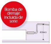 Unidades interiores KX Split Conductos Baja Silueta y Baja Presión FDUT bomba incluida serie