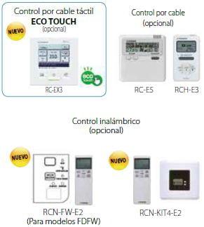 KX Split Suelo con/sin Envolvente FDFN/FDFL/FDFU control inalambrico